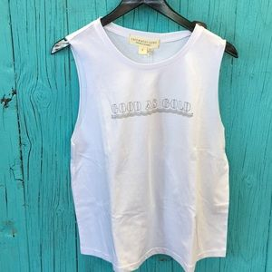 Saltwater luxe muscle tank new with tags